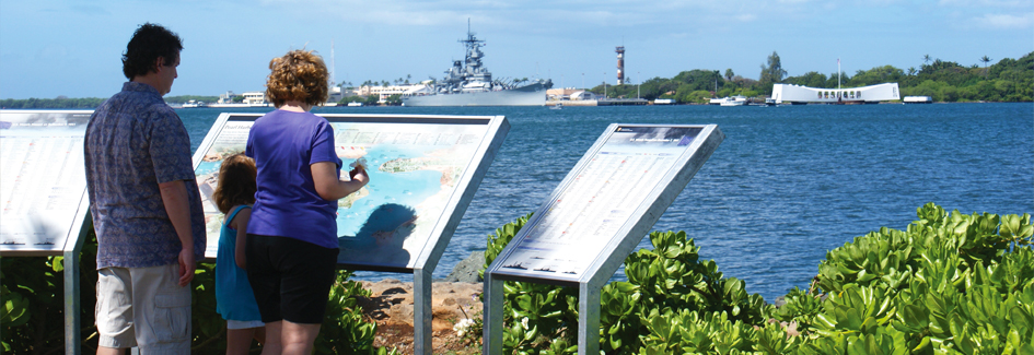 Plan Your Visit to Pearl Harbor Historic Sites, Plan the day Pearl Harbour Map on
